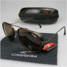 Carrera 2020 New Men Womens Retro Sunglasses Fashion Windproof Metal Glasses C-38 With Box