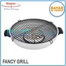 Maspion Fancy Grill MR-33 Alat Pemanggang/Panggangan Sate Ikan Sosis Ukuran 33 cm