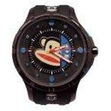09bfe113f135 Paul Frank Men s Black Silicone Strap Watch PFFR1145-01A