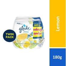 Glade [Not For Sale] Scented Gel Lemon 180G Twinpack