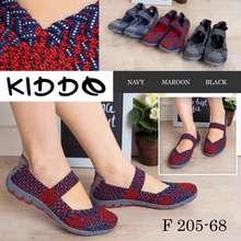 Kiddo Flat 205-68 Rajut Ori Wanita Import