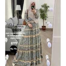 Umma Baju Gamis Dress Muslim Rayon Viscose Hq