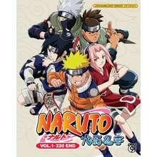 ANIME DVD NARUTO 火影忍者 Original Series (Volume 1-220 End) 4 Languages (10x DVDs Boxset)(3x DVD) (Chinese/English/Malay Subtitle)