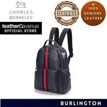 Charles Berkeley Burlington British Style Men'S Leather Backpack (Kp-18132)