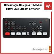 Blackmagic Design (Local 12months Warranty) ATEM Mini HDMI Live Stream Switcher