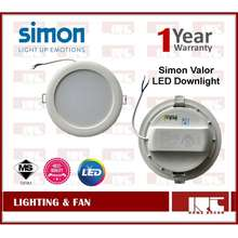 Simon High Quality Super Extra Bright Valor Led Downlight 12W / 17W With Sirim Approved