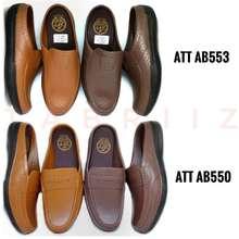 ATT Sandal Slop Abk550 Coklat Sandal Karet Pria - Murah Berkualitas