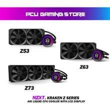 NZXT Kraken Z Series [Z53 / Z63 / Z73] Aio Liquid Cpu Cooler With Lcd Display