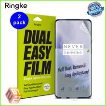 Ringke Original Dual Easy Oneplus 7 Pro / Oneplus 7T Pro Screen Protector [Pack Of 2] Ready Stock