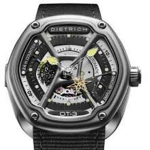 Dietrich Ot-3 Watch Steel Case Black Nylon Strap Full Set