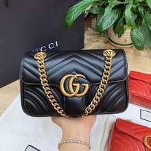 Gucci Túi Marmont 22 Màu Đen Về Sẵn