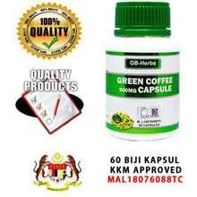 Green Coffee Bean / KOPI HIJAU GB 100% PURE
