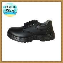 BINSIN รองเท้าเซฟตี้ รองเท้านิรภัย รองเท้า safety รุ่น MM8888B สีดำ by Pacific Shoes (EU: 41)