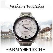 Army Tech Extra Big Jam Tangan Stainless Steel Metal