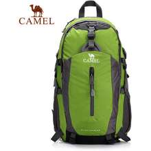 Camel 40L Outdoor Lovers Hiking Backpack Multifunctional Trekking Pack Camping Travel Backpack Mountaineering Climbing Knapsack Rain Cover Include