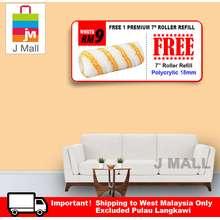"JMALL ""Apple Paint Interior Ecoplus Vanity Fair AP 8505 - 7L [ + Free Gift 1pc 7"""" Mcpro Roller Refill ]"""
