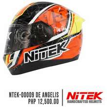 Nitek De Angelis Full Face Single Visor