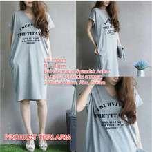 unicell distro Toko Baju Baju Atasan Blouse Kaos Terusan Wanita Surviver    Dress Tshirt Panjang   Gaun 40c2868482