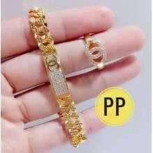 Xuping Gelang seat ch pinggir free cincin gold rise