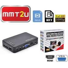 Tinytech Mkv / Rmvb Full Hd1080 Media Player With Hdmi & Vga Input (Fhd023Hv)