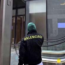 Balenciaga 【The Lemon】เสื้อยีนส์ Balenciaga เย็บปักถักร้อย สไตล์เดียวกันสำหรับผู้ชายและผู้หญิง(Limited)