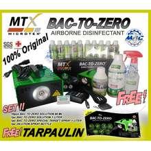 Microtex Bac To Zero Machine Version 2 Plus 1 Liter Solution Free 10Pcs 60Ml 1Pc 500 Solutions