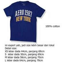 Aero Kaos Oblong Ori 100%