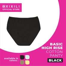XIXILI - Basic High Waist Cotton Panty