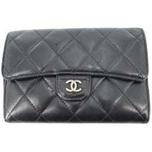 CHANEL Black Wallet
