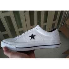 Converse Giày One Star Da Trắng Chính Hãng Size 41.5 43 42 42.5 Mới 100%