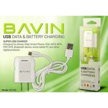 Bavin Original Pc752 Charger With Adapter Usb Data Cable Android Cod