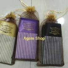 Souvenir Pernikahan souvenir dompet salur kemas tile isi 100 pcs