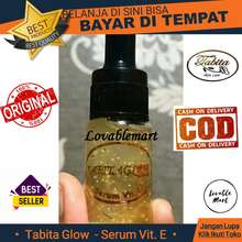 Tabita Glow Serum Vitamin E 10 ml Gold Kemasan Kecil Travel Size Exclusive - @Lovablemart