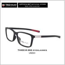 TAG Heuer Th0518 002 Black Eyewear Malaysia Optical Frame France Eyeglasses Prescription Glasses