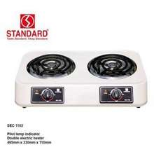 Standard Sec-1102 Double Coil Electric Stove