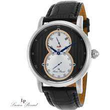 Lucien Piccard Infinity Silver Tone Watch
