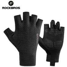 RockBros Sarung Tangan Sepeda Motor S221 Half Gloves Bike Half Finger Xl