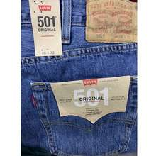 Levi's Levis 501 Charcoal Black 501 Button Fly Jeans