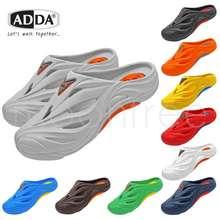 Adda 🔥Adda 53301 รองเท้าแตะ รองเท้าลำลอง สำหรับผู้ชาย แบบสวม รุ่น ไซส์ 7-10 สี ดำ น้ำเงิน น้ำตาล เทา เขียว กรม ส้ม แดง ขาว