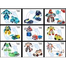 Playskool Heroes Transformers Rescue Bots Energize Heatwave / Chase / Blades / Medix / Boulder / Hoist Converting Robot