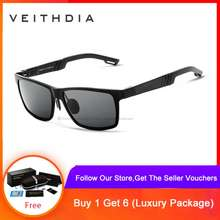 VEITHDIA Men's Polarized Driving Outdoor Sun Glasses 6560