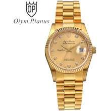 Olym Pianus Đồng Hồ Nam Mặt Kính Sapphire Op89322 Op89322Mk Vàng