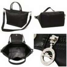Longchamp Authentic Neo Medium 1515 Black 0254585e80