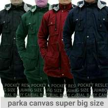 Jumbo jaket parka pria big size ukuran 2aa61295e5