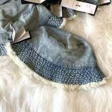 Rubi Cotton On: Denim And Gray Girl'S Bucket Hat