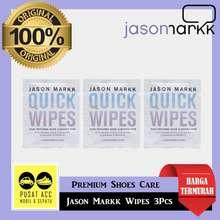 jason markk Quick Wipes 3Pcs Cleaning Shoes Sepatu Sneaker Crep