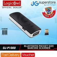 Yoko Logicscan YK-P1000 Mini Mobile or PC 1D Wireless Bluetooth Pocket Barcode Scanner