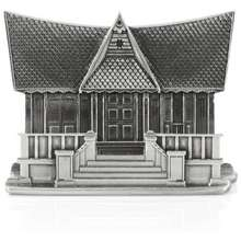 Royal Selangor Malaysia Collection Pewter Malacca House Name Card Holder Gift
