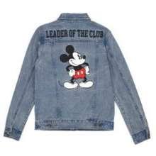 Disney Denim Jacket Mickey