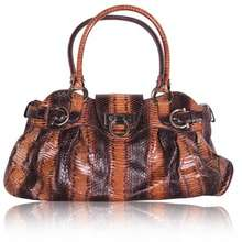 Salvatore Ferragamo Brown Python Shoulder Bag 26709bb00029c